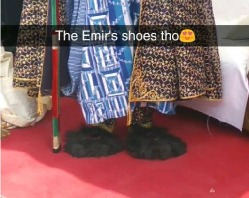 Photo: Emir of Kano, Sanusi Lamido and his
