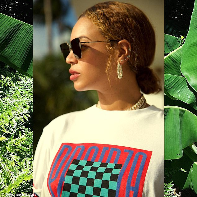 Major Hotness! Beyonce showcases her flawless legs and curves in new photos