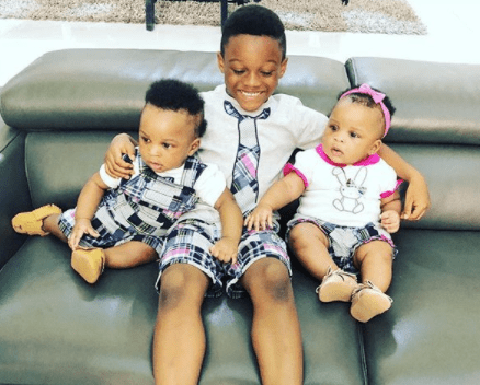 Paul Okoye shares cute new photo of his kids together
