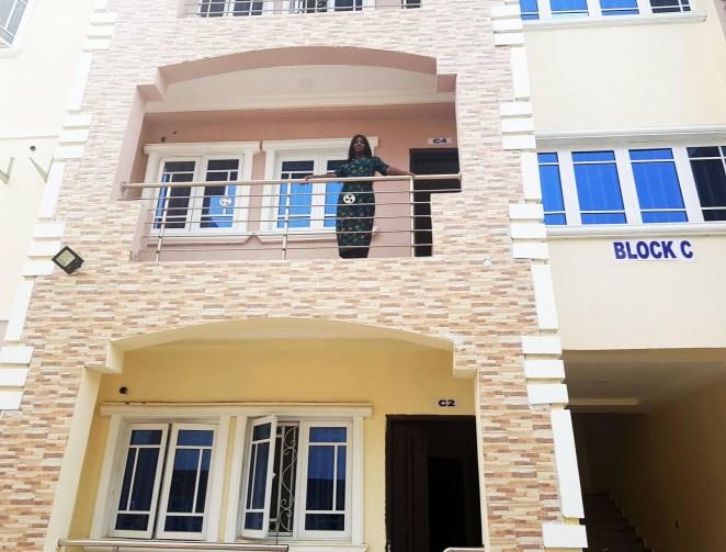 5a5825009347d - Ebonyi lawmaker, Maria Ude Nwachi shows off her new Maitama, Abuja house