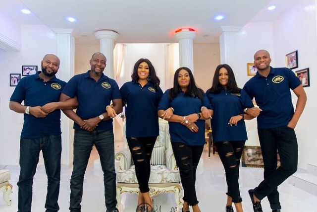 Billionaire businessman Chima Anyaso & siblings celebrate mother with lovely photos