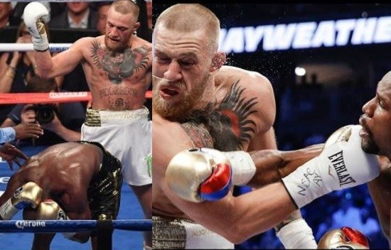 5a5909a3192ba - Lol...Floyd Mayweather and Conor McGregor drag each other on social media, share photos from their mega fight to mock each other (Photos)