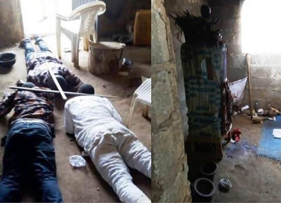 5a5a0b31469e4 - Photo:Suspected ritualists arrested in Osun .
