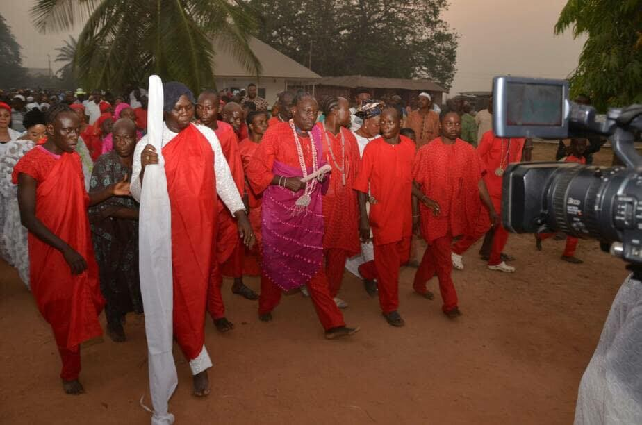 Photos from?Installation ceremony of Gani Adams as the 15th Aare Ona Kakanfo of Yorubaland