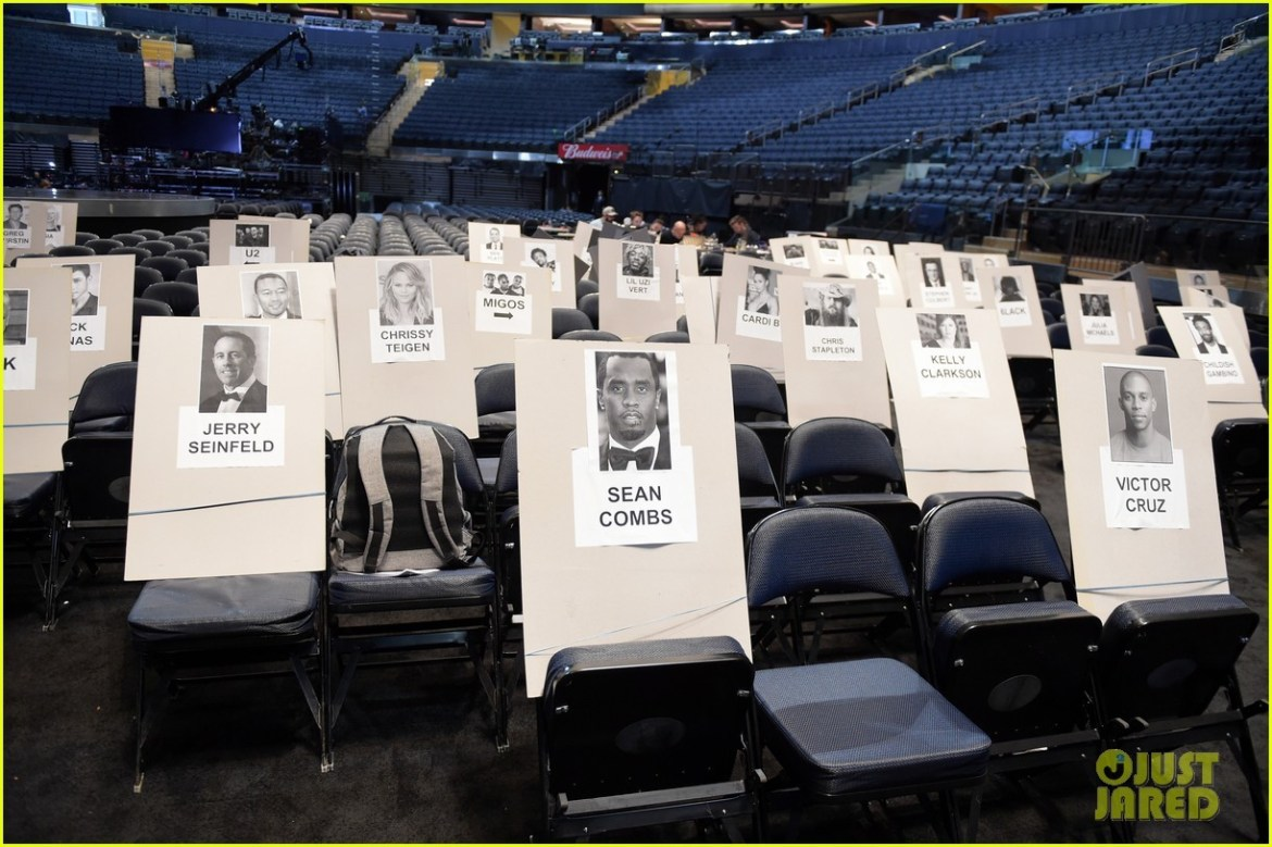 Grammys 2018 Seating Revealed - See who