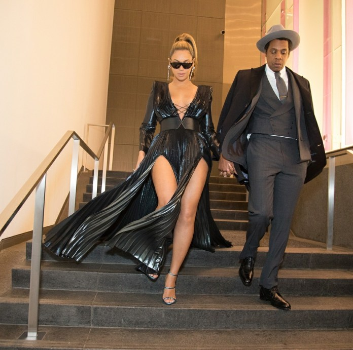 Beyonce and Jay Z look amazing at the Roc Nation Brunch