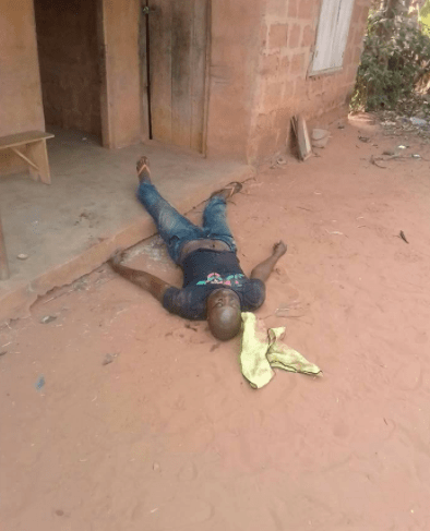 Graphic photos: Man shoots his brother dead during an argument in Imo state
