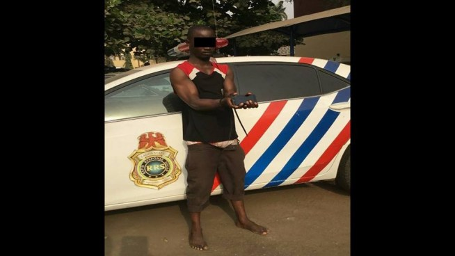 Photos: RRS arrests 40-year-old man for stealing colleague