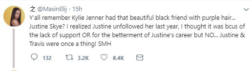 Kylie Jenner allegedly stole Travis Scott from her best friend Justine Skye (video)