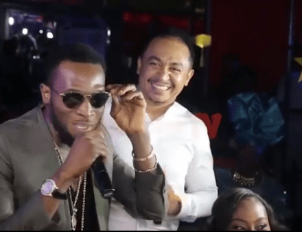 ?I pay my tithe and I?m proud I pay? - D?banj tells Daddy Freeze at Omotola