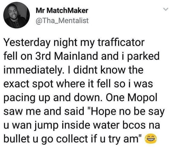 5a82f3a0156fc - Lol Man narrates how a MOPOL threatened to shoot him after he thought he wanted to commit suicide at Third Mainland bridge