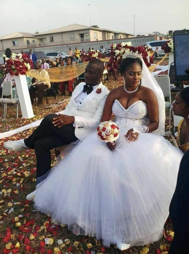 5a835f0c0d1c0 - Photos: Chai! President Weah's new Director of Operations gets married to his wife's best friend in Liberia...without divorcing her in the U.S!