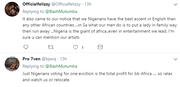 South African man asks why BBNaija always outshines BBA...the replies from Nigerian are hilarious