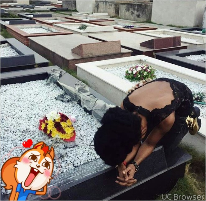5a8493900b71f - Denrele pays emotional tribute to his dear friend, singer Goldie, who died exactly 5 years ago today