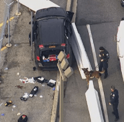 5a8542ef338a6 - 3 injured and 3in custody after SUV tries to ram gate at National Security Agency and is stopped by police officers who shot at its windshield