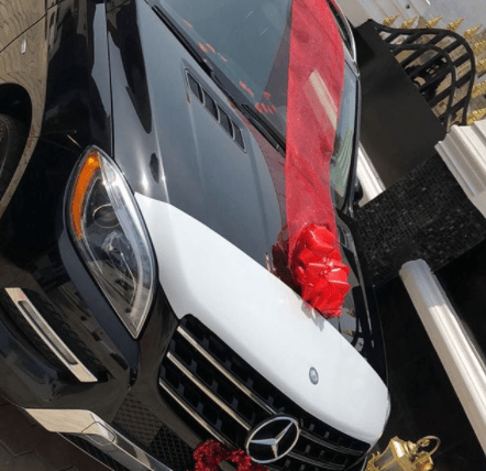 5a85693ece63f - Jeweller Malivelihood gifts his fiancee a brand new car for Valentine's Day