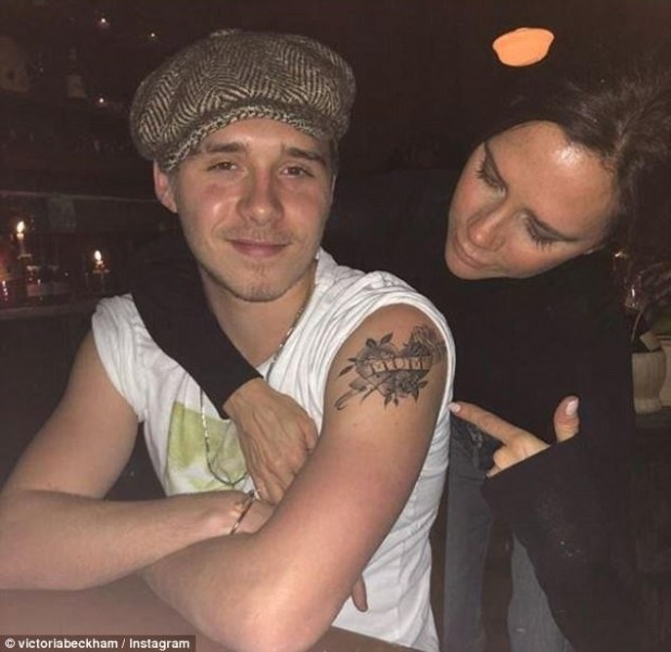 Victoria Beckham approves of her son