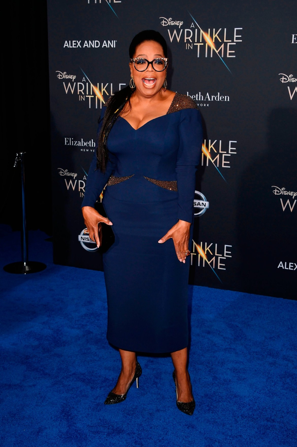 Here is a close-up photo of Oprah Winfrey at the