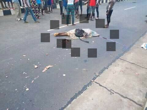 Graphic: BRT bus crushes student to death in Ikorodu