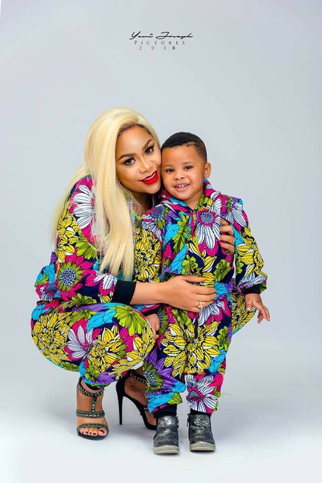 FFK shares beautiful photo of his wife, Precious and their son, Aragorn