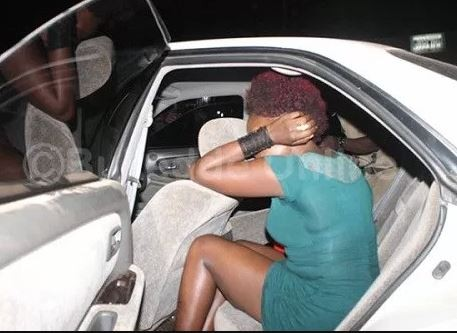 Ugandan singer?Barbi Jay?caught pants down having sex in a car with another lady just days after?welcoming a child with his wife