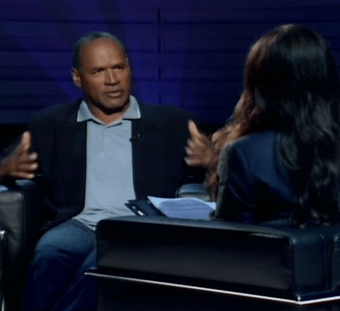 OJ Simpson confesses to killing ex-wife Nicole Brown and her friend, Ron Goldman...hypothetically...and it