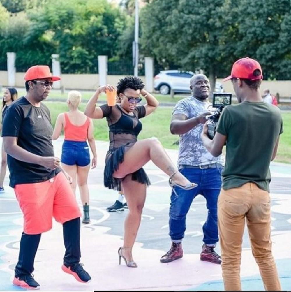Controversial South African dancer, Zodwa Wabantu shares more pantless photos?