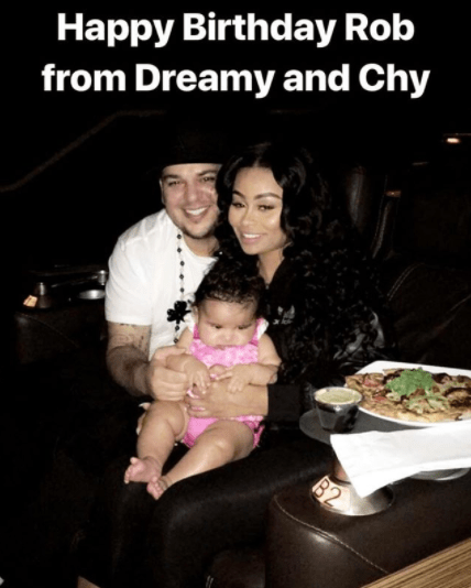 Black Chyna puts their differences aside to wish Rob a happy birthday