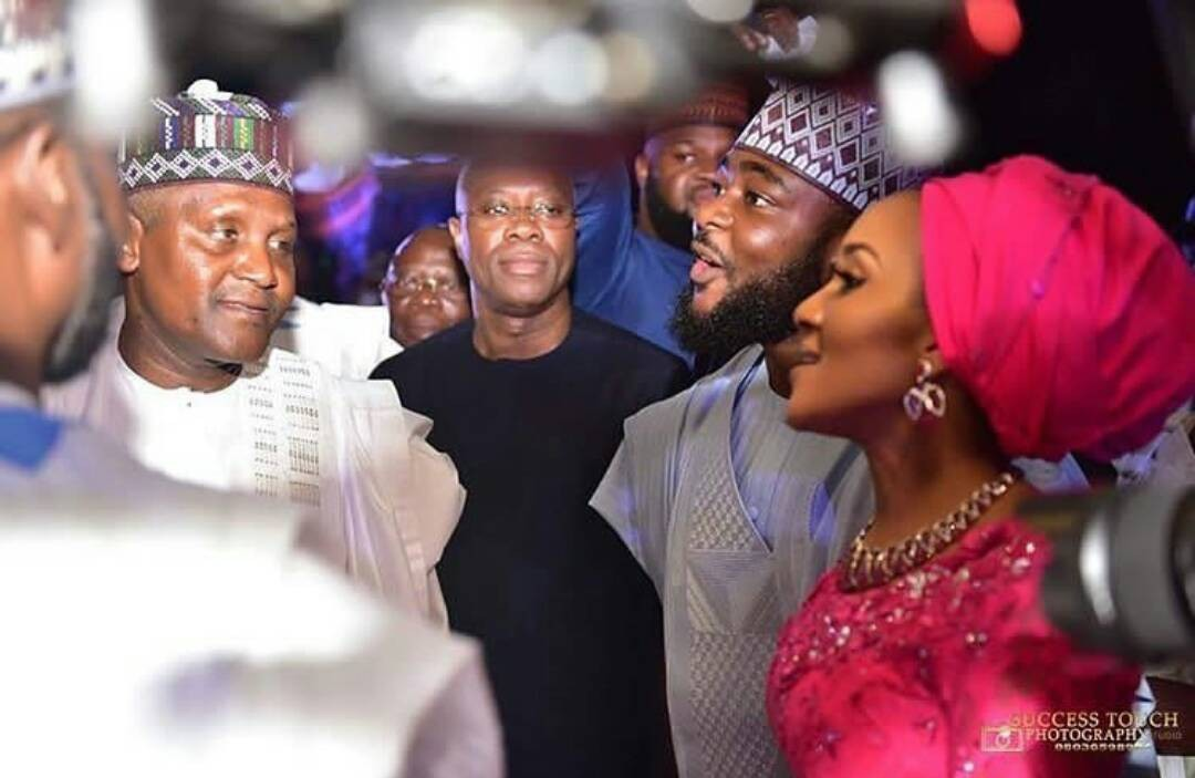 This photo of billionaire businessman, Aliko Dangote and his daughter, Fatima, will melt your heart!