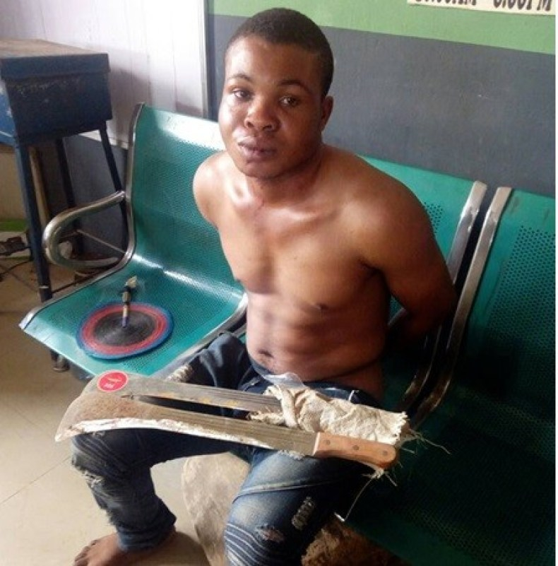 Man hacks his elder brother and sister-in-law to death in Ogun State