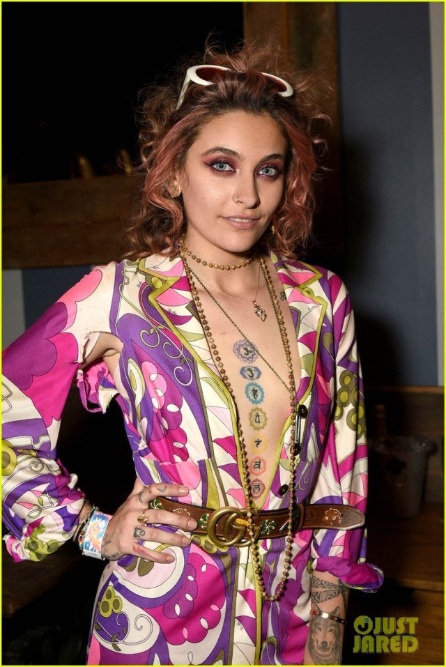 Paris Jackson rocks