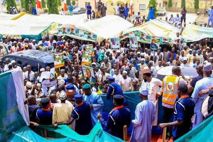See the crowd that attended PDP rally in president Buhari