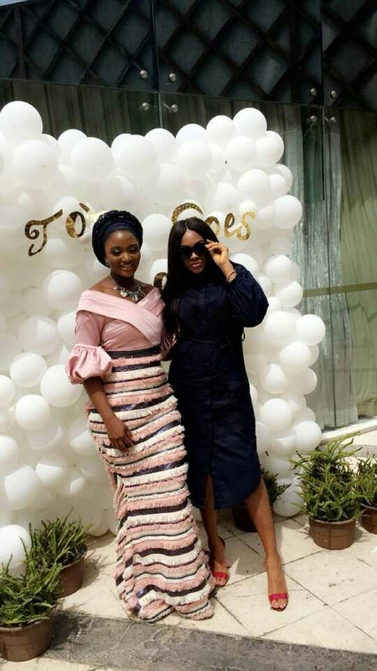 Photos: Ex-beauty queen, Powede Lawrence-Awujo and hubby dedicate their son in church