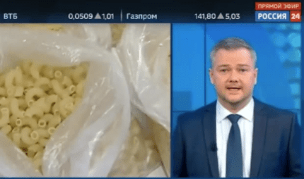 Russia?s state TV tells people to prepare for World War 3 and best foods to take into shelters
