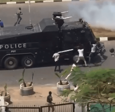 Shiite members, police officers clash in Abuja(photos/videos)