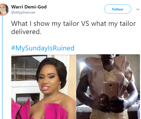 Lool! Lady shares hilarious what she ordered vs what she got from her tailor  naija news today