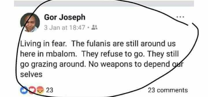 Benue Catholic priest killed by herdsmen raised alarm in January over activities of Fulani herdsmen in his community