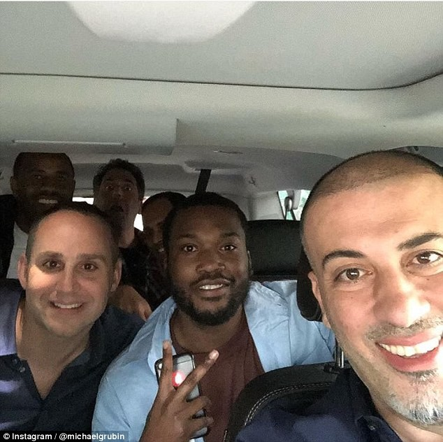 See photos of Meek Mill after his release from prison?