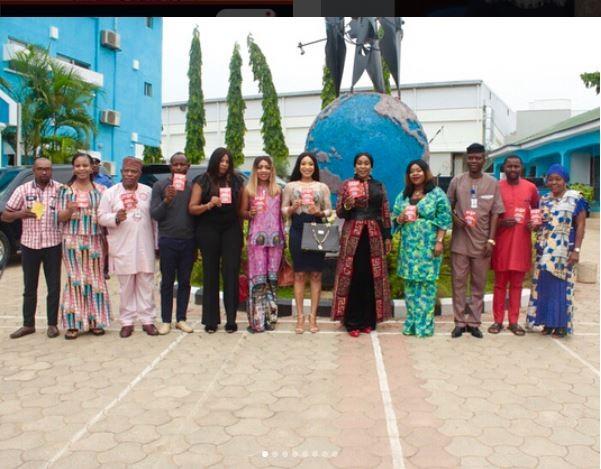 Tonto Dikeh becomes NAPTIP ambassador (Photos)