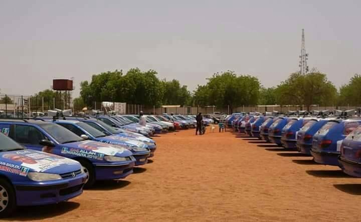 APC members donate 124 vehicles to Kebbi State chapter of the party for Buhari