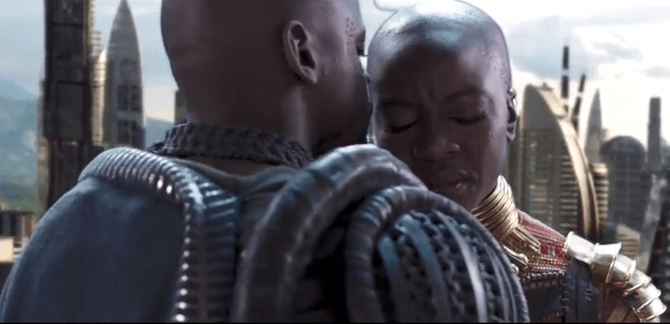 Deleted scenes from Black Panther have been released... Shows Okoye and W