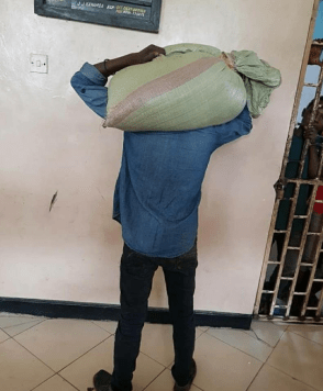 """Thief hands himself over to police after stolen bag """"refused to leave his head"""" (photos)"""