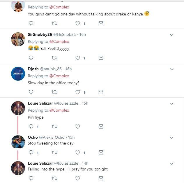 Drake unfollows Rihanna on Instagram after she revealed