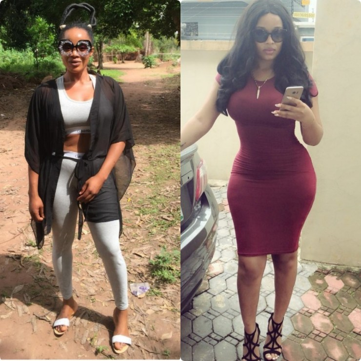5afc3cc04b211 - Actresses Onyi Alex and Uche Ogbodo savagely reply non-fans on Instagram