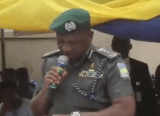 ?Effort at the transmission, commission, omission? - Watch the trending video of IGP Ibrahim Idris struggling to read his speech