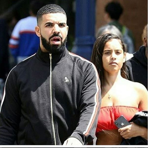 Drake spotted out with rumoured new girlfriend Malaika Terry & she