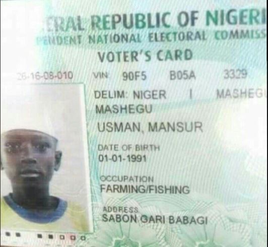 Photos: Twitter user shares?PVCs of underage persons circulating?in the North