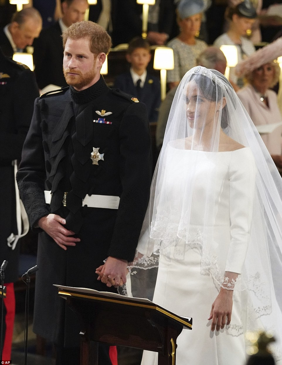 Look of love on Prince Harry and Meghan Markle