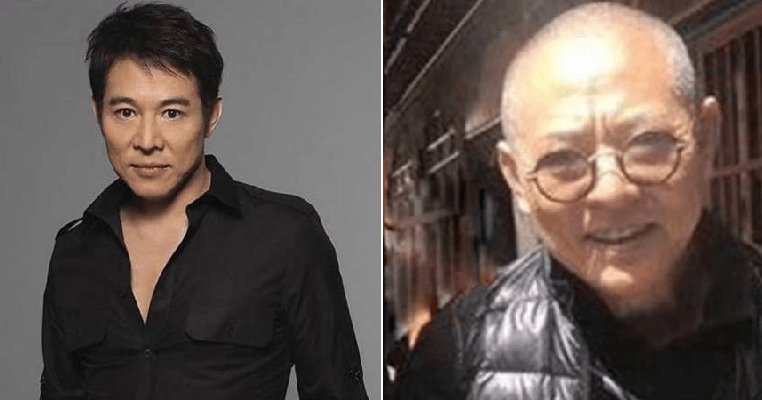 Alleged photos of legendary actor, Jet Li looking  unrecognizable amid battle with