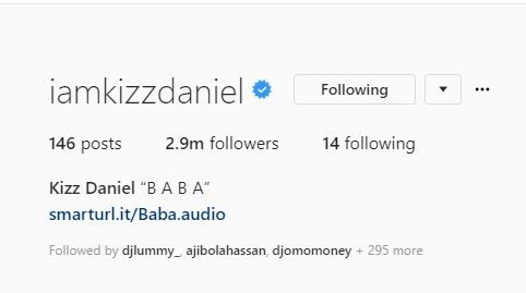 Kiss Daniel quietly changes his name to